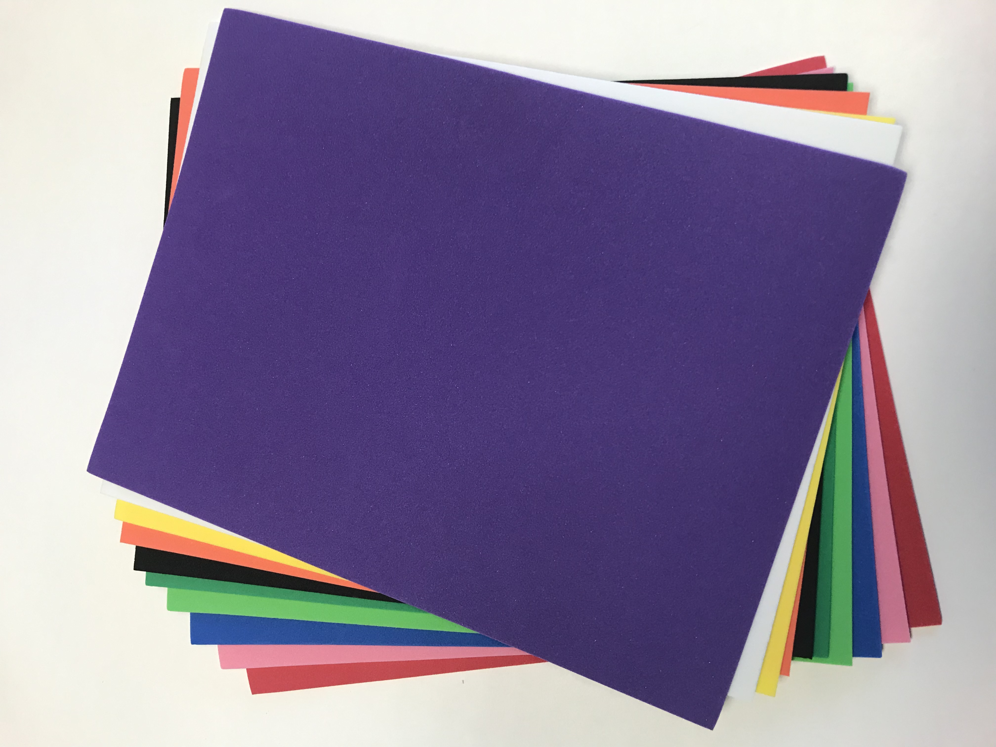 "R9 Craft Foam Assorted Colours - 12"" x 18"""