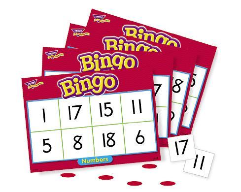 Trend T6068 Games Bingo - Numbers
