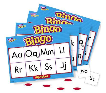 Trend T6062 Games Bingo - Alphabet