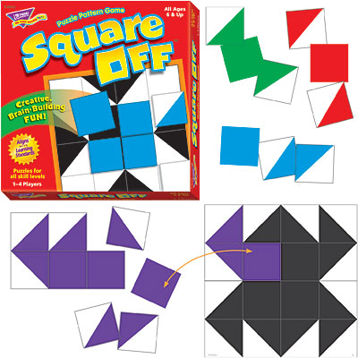 Trend T76101  Square Off Puzzle Pattern Game