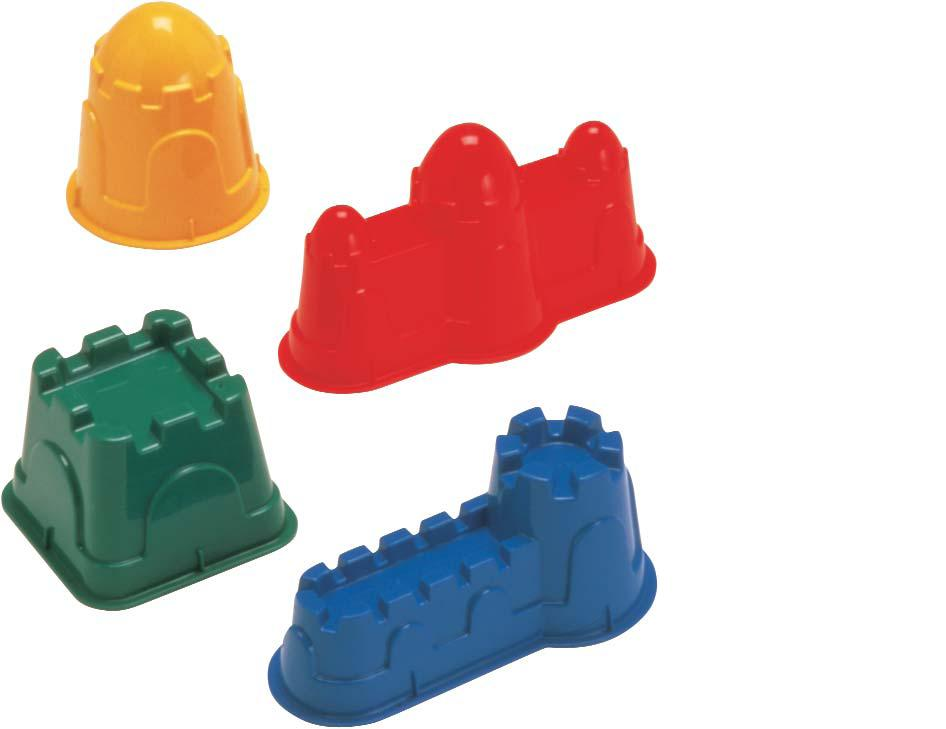 Playwell T19793 Sand Castle Molds