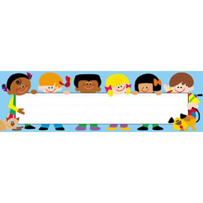 Trend T69005 Desk Topper Name Plates  Trend Kids - 36/pkg