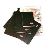 "Hard Cover Coil Sketch Book 110 GSM - 9'' x12"" - 144pgs"