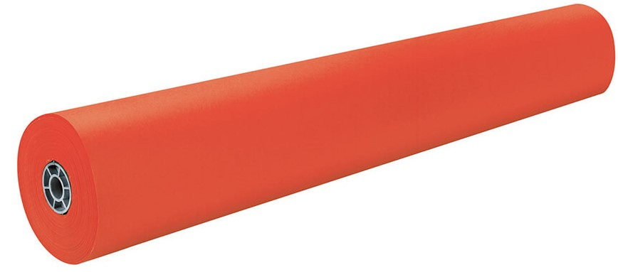 "1380 102C Orange Bonanza Construction Roll - 36"" x 1000'"