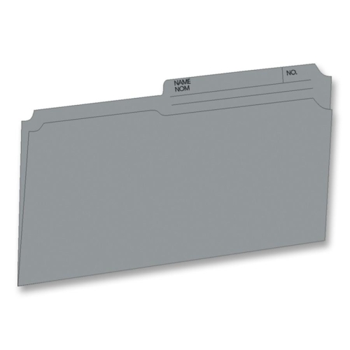 Continental 46514 Grey File Folders - Legal Size