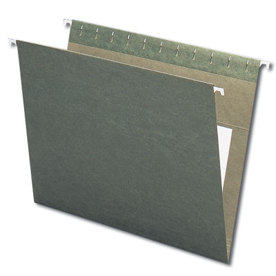 Continental 30504 Green Hanging File Folders - Letter Size