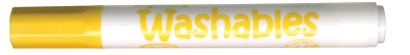 LiquiMark 81206 Non Permanent Markers Yellow - Chisel Tip