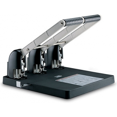 KW trio 953 Metal Power Paper Punch (150 Sheets) - 3 Hole