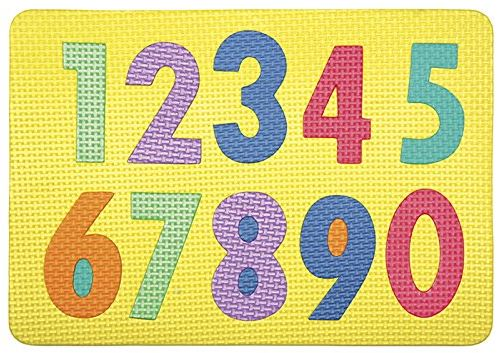 Creativity Street 4420 Wonderfoam Magnetic Numerals Puzzle
