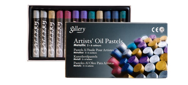Mungyo 78106 Oil Pastels Metallic Jumbo Soft