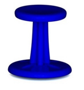 Kore Toddler Wobble Chair - 10 inch - Blue